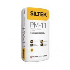 Штукатурка Siltek PM-11 цементна стартова. Ручного та машинного нанесення (25 кг)